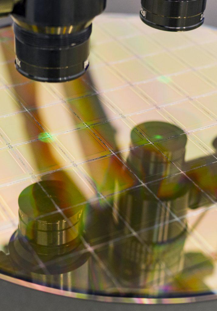 Silicon Wafer Microscope